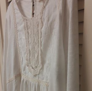 Anthropologie Mystree Boho Emrboidered Top NWT
